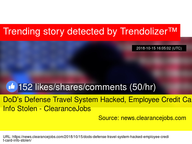 dod 039 s defense travel system hacked employee credit card info